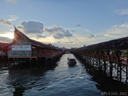 Semporna, Sabah the starting point to Sipadan. Taken wit... by Kf Leong