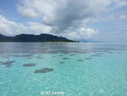 Mantabuan Island, Sabah Malaysia. What a beautiful islan... by Kf Leong