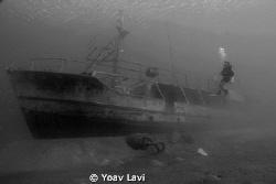 The sun boat by Yoav Lavi