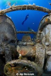 Pinar1 ship wreck  from Bodrum / Turkey by Alp Baranok