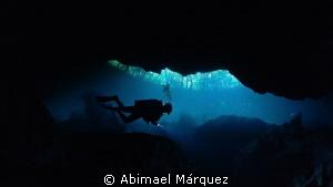 Cenote by Abimael Márquez