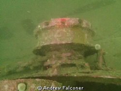 Anchor and capstan from World War 1 German Cruiser scuttl... by Andrew Falconer