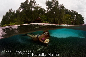 """MERMAID IN RAJA AMPAT"" by Isabella Maffei"