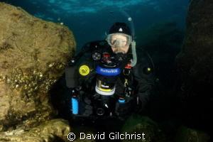 The U/W photographer, Fathom Five National Marine Park by David Gilchrist