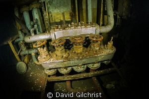 Set of valves, Niagara II, Tobermory, Ontario by David Gilchrist