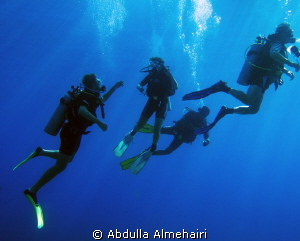 Divers by Abdulla Almehairi