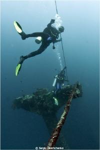 Maldives Wreck by Sergiy Glushchenko