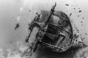 Wreck of the SS Thistlegorm by Paul Colley