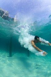 The splash. Nikon D100, 16mmm, no strobo .Lankayan 2005 by Marchione Giacomo
