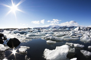 Jökulsárlón Glacier Lagoon by Mathieu Foulquié