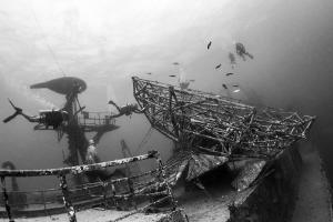 USS Vanderberg (Key West, Fl.) by Mathieu Foulquié