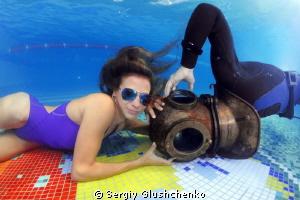 Ironic freediving ... by Sergiy Glushchenko