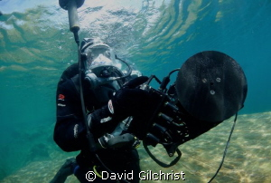 ' Navigator'  Shark Marine Technologies test dive, Lake R... by David Gilchrist