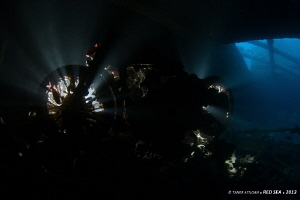 Motorcycle from SS Thistlegorm by Taner Atilgan