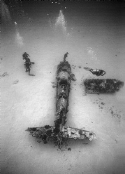 WW II Corsair Wreck off Hawaii Kai, Oahu, Hawaii, 2013,