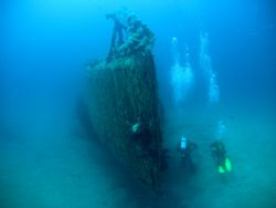 The RUBIS submarine, -40 France, St.Tropez by Pavel Tihelka