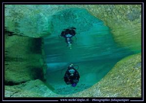 River Diving by Michel Lonfat
