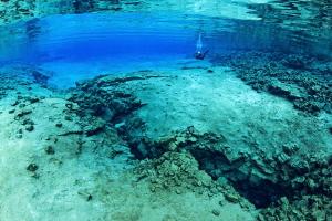 Silfra lagoon3 by Mathieu Foulquié