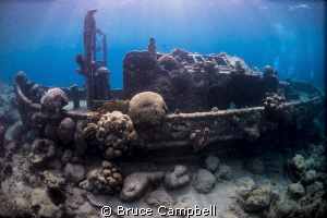 The Tug boat by Bruce Campbell