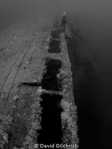 Last look at the Rio de Janeiro Maru, Chuuk by David Gilchrist