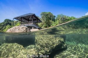 Split shot image taken at our resort in Manado, Indonesia by Nick Blake