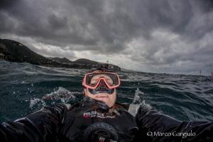 Self Portrait in the storm by Marco Gargiulo