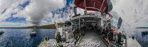 360 degree panorama of Socorro Island and Nautilus Explor... by Wolfgang Zwicknagl
