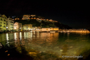 Marina Grande di Sorrento by night by Marco Gargiulo