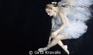 Ballerina by Girts Kravalis