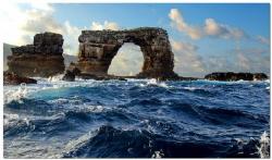 Darwin Arch near Darwin Island (Galápagos), one of the to... by Reinhard Arndt