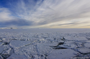 The breaking of the pack in the Terra Nova Bay - Antarctica by Marco Faimali (ismar-Cnr)