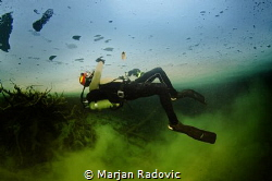 """Under the ICE"" - Plitvice lake - Croatia by Marjan Radovic"