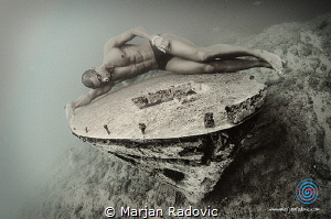 """Small wreck sleeping"" by Marjan Radovic"