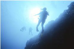 Pinnacle diving the wonderful Kona side of the Big Island... by Robert Fleckenstein