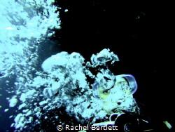 Scuba diving on the HMAS Swan, Dunsborough, WA by Rachel Bartlett