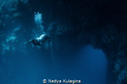 Diving the Arch... Dahab by Nadya Kulagina