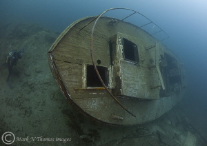The Podsnap - WW2 minesweeper. by Mark Thomas
