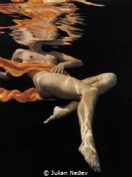underwater reflections by Julian Nedev
