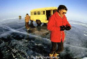 Underwater photographer Rick Sammon Photo expedition on L... by Sergiy Glushchenko