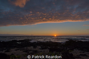 Kona Sunset by Patrick Reardon