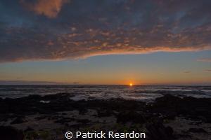 Kona Sunset by Patrick Reardon