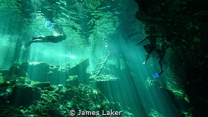 Grand Cenote by James Laker