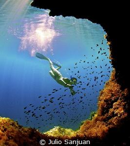 Snorkel in Sa Calobra (Mallorca, Spain) by Julio Sanjuan