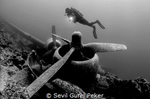 C47 Dakota, Bodrum, Turkey.I took this picture in August.... by Sevıl Gurel Peker