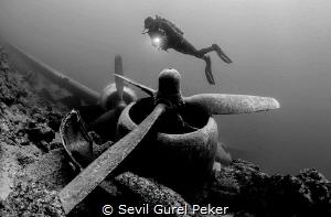 C47 Dakota, Bodrum, Turkey.I took this picture in August.... by Sevıl Gurel Peker