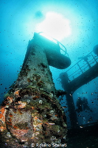 Wreck of Tevfik 1 Sub in Love by Rosario Scariati