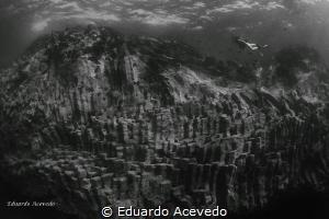 Basaltic formation at Tenerife Island by Eduardo Acevedo