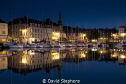 Honfleur on the Seine, Normandy, France. Taken with Nikon... by David Stephens