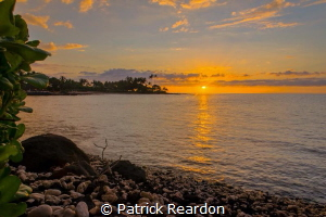 Kohala Sunset.  Big Island, Hawaii. by Patrick Reardon