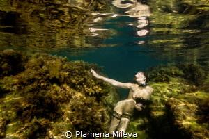 The nude Jasmine by Plamena Mileva